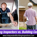 difference between building inspectors and building certifiers