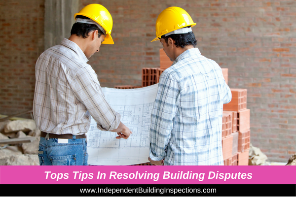 Top tips in resolving building disputes - image