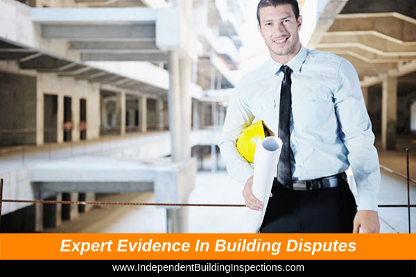 Expert evidence in building disputes - image