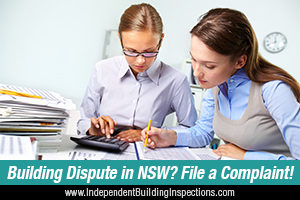 resolving building disputes in NSW - image