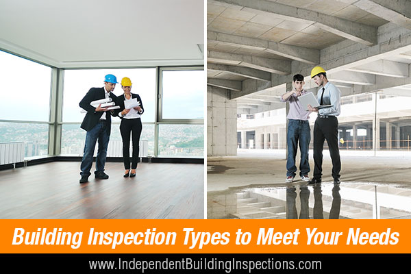 Types of Building Inspections