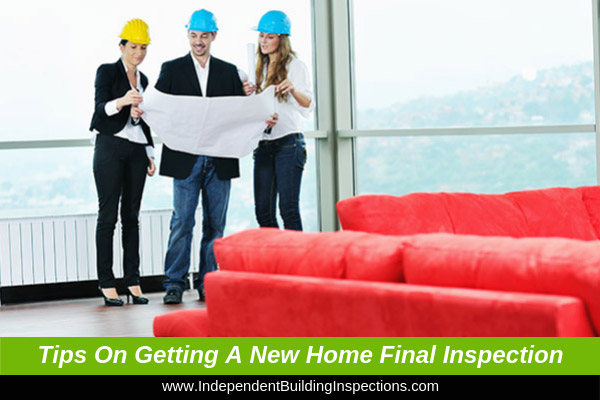 Top tips on acquiring a new home final inspection - image